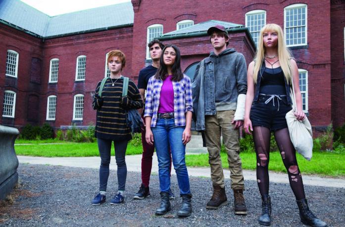 Il cast di New Mutants