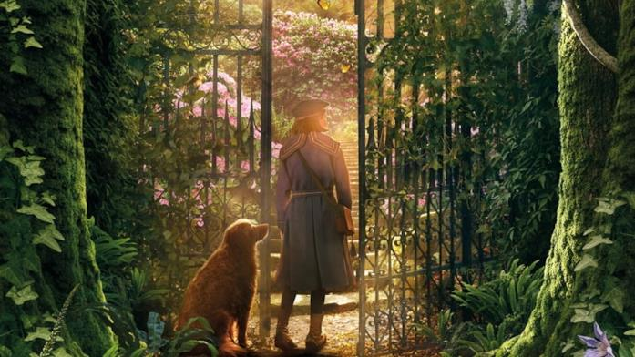 Una scena di Secret Garden
