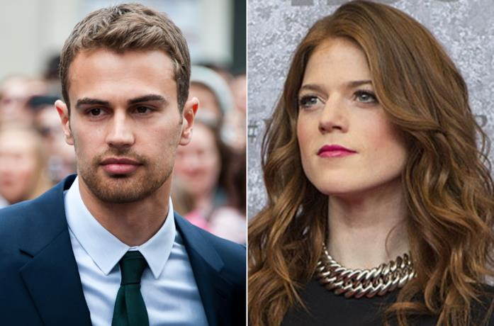 Theo James e Rose Leslie in due occasioni ufficiali