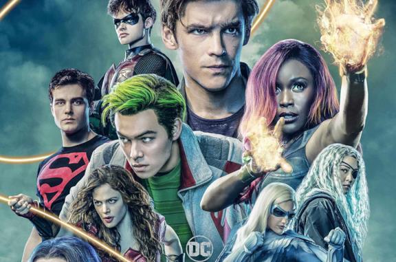 Il poster della stagione 2 di Titans