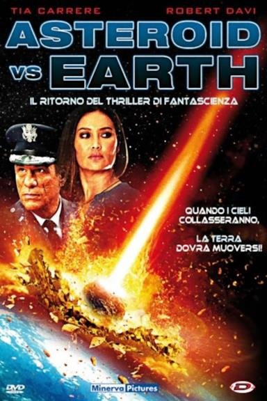Poster Asteroid vs Earth