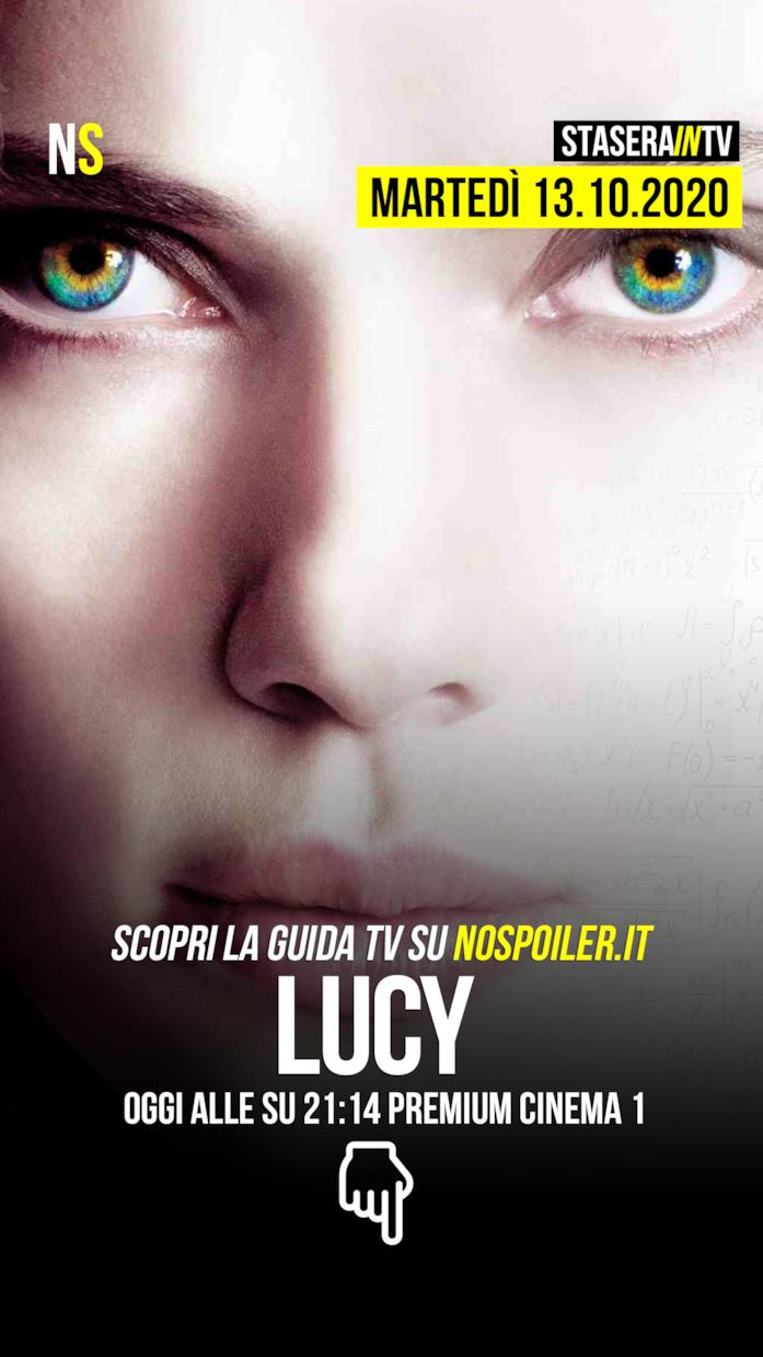 Stasera su Premium Cinema 1 il film Lucy