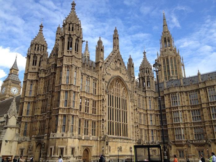 Westminster Abbey in Inghilterra