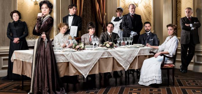 Il cast di Gran Hotel