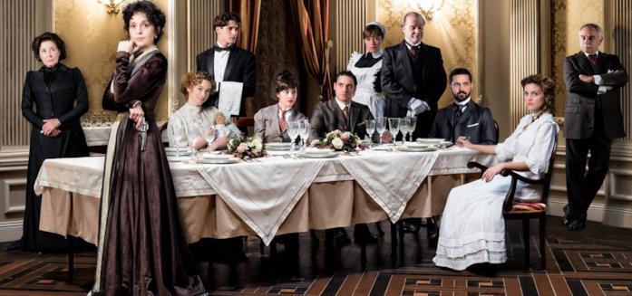 Una scena di Grand Hotel