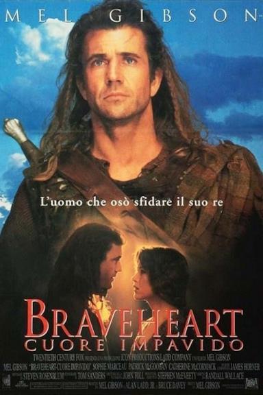 Poster Braveheart - Cuore impavido