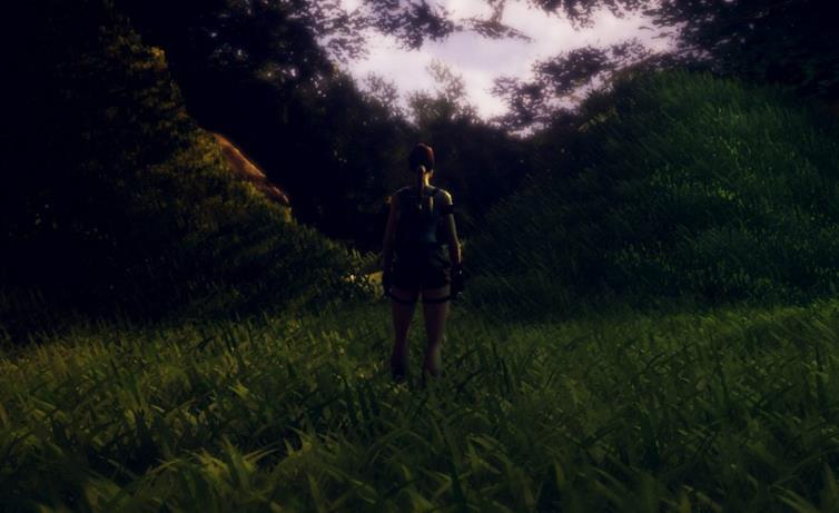 Le prime immagini di The Adventures of Lara Croft