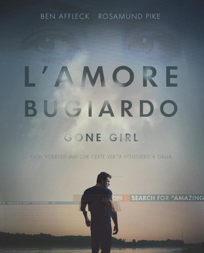 L'amore bugiardo - Gone Girl - poster