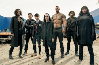 I membri della Umbrella Academy nella seconda stagione