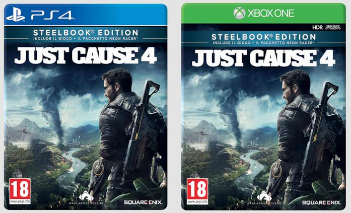 Just Cause 4 - Steelbook Edition per PS4 e Xbox One
