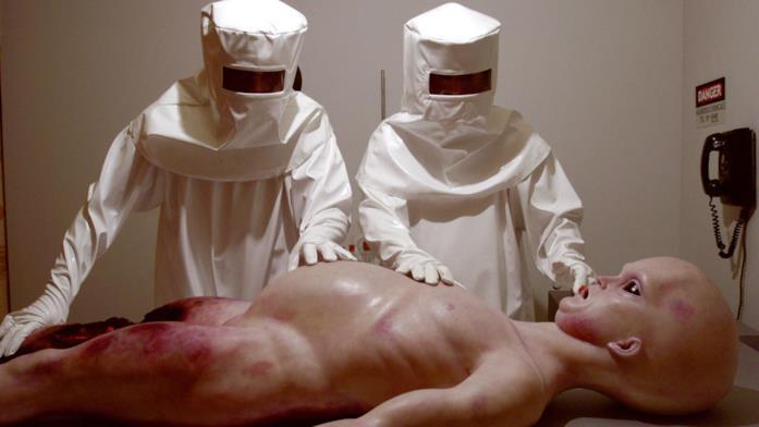 La ricostruzione dell'autopsia di un alieno