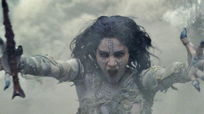 Una scena tratta da La Mummia