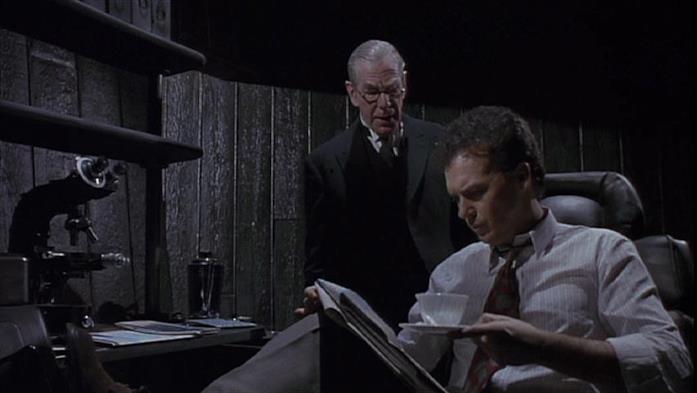 Alfred e Bruce Wayne in Batman del 1989