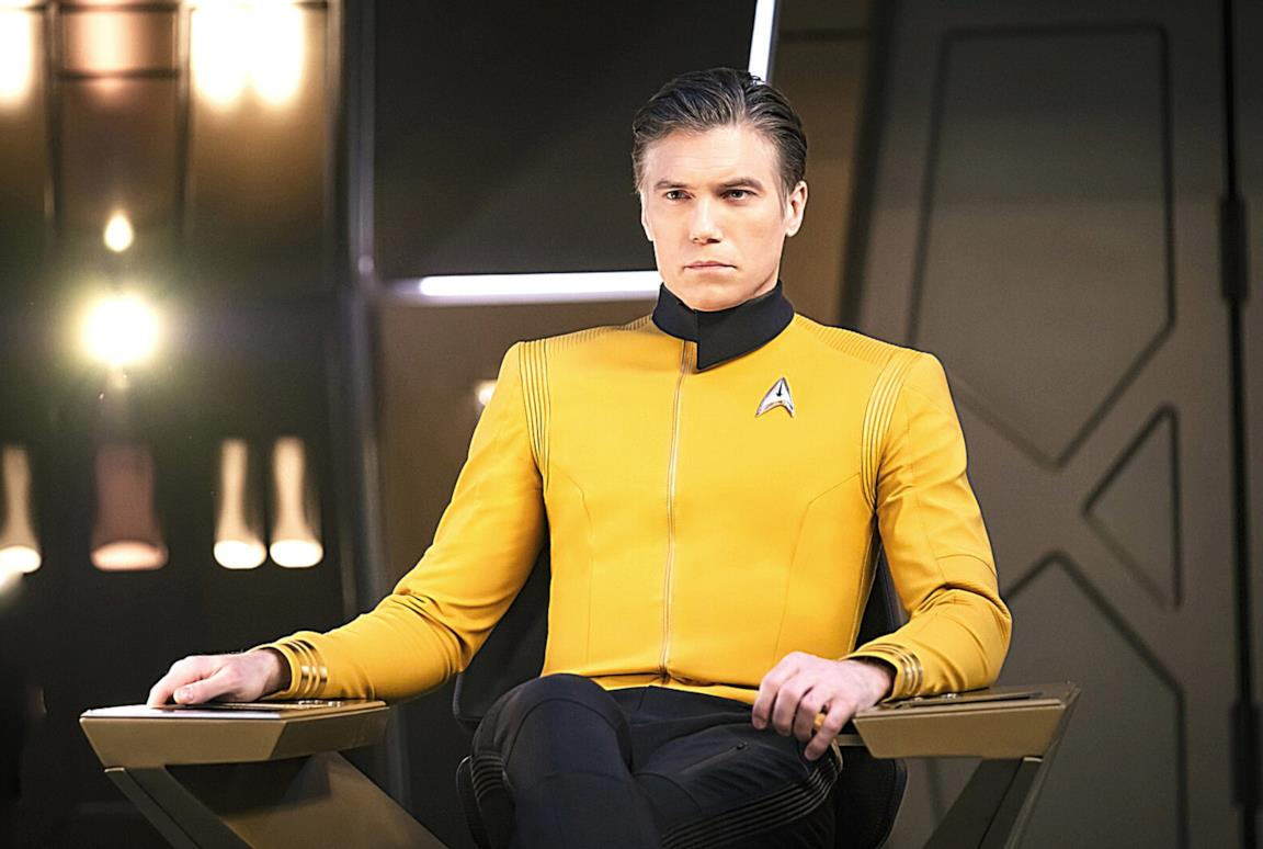 Il Capitano Pike di Star Trek