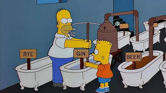 Hoer e Bart e la loro distilleria clandestina