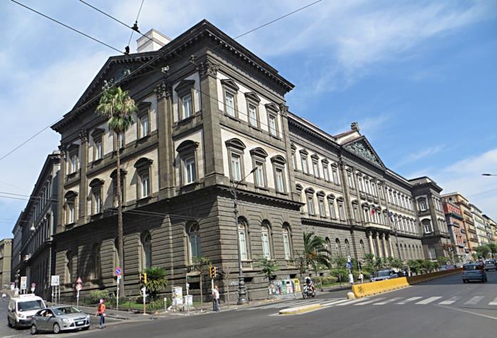 La sede dell'Università Federico II a Corso Umberto