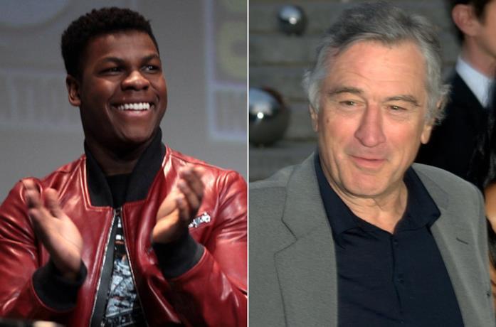 John Boyega e Robert De Niro in due occasioni pubbliche