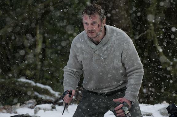 Una delle scene finali di The Grey