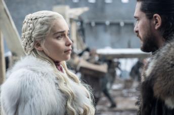 Daenerys e Jon nel primo episodio de Il Trono di Spade 8