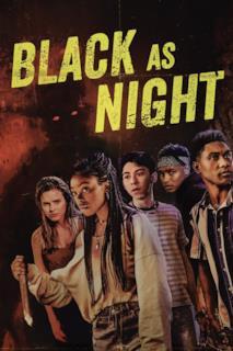 Poster Nero come la notte