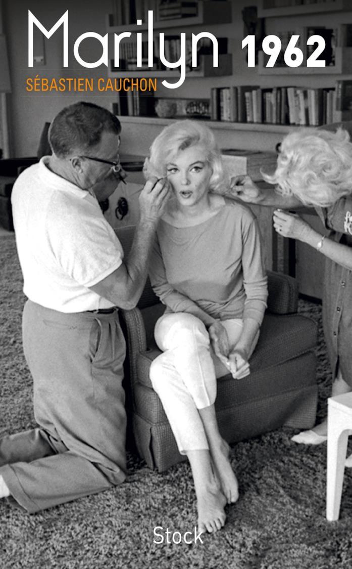 La copertina di Marilyn 1962