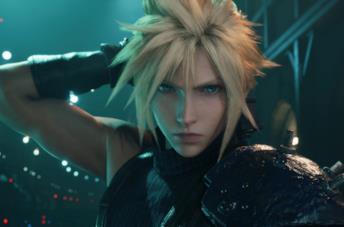 Cloud Strife nel remake di Final Fantasy 7