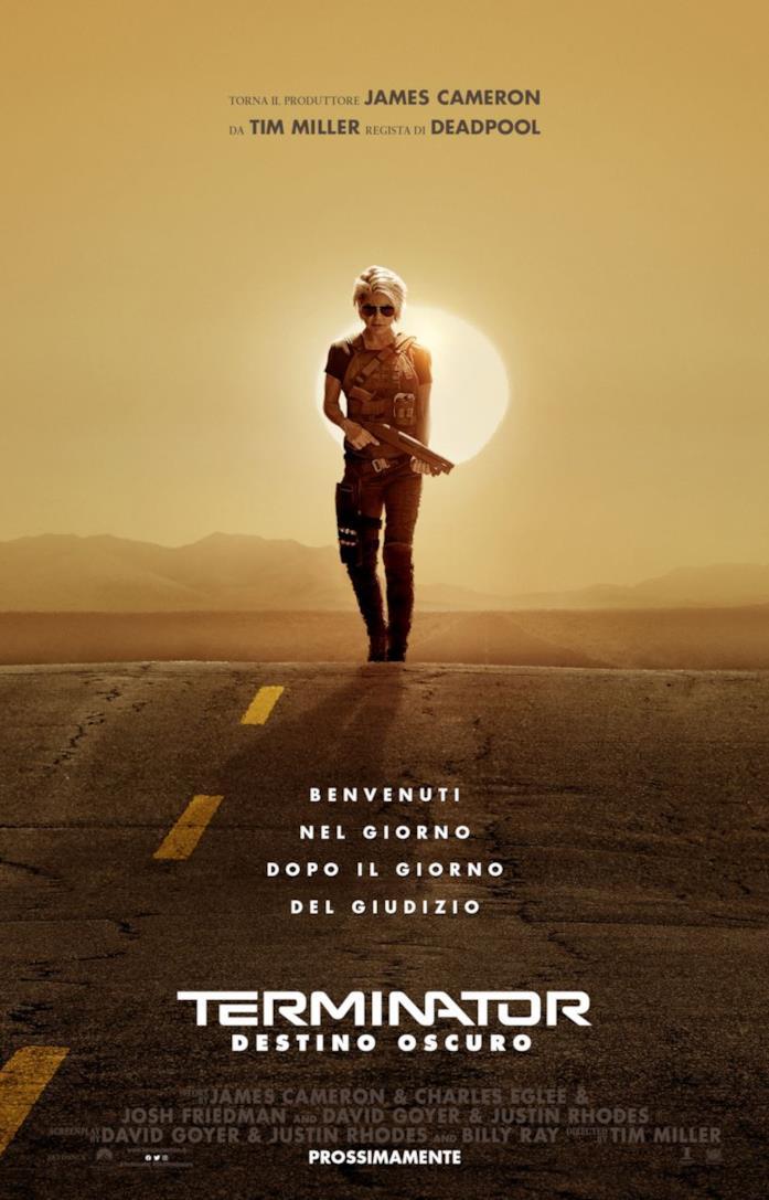 Il poster di Terminator - Destino oscuro