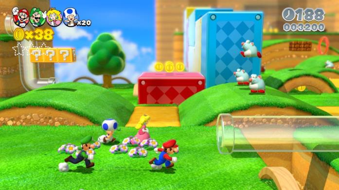Mario 3D World Switch