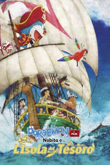 Poster Doraemon: Il film - Nobita e l'isola del tesoro