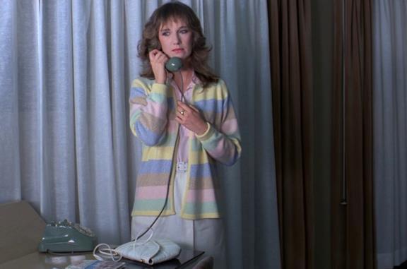 Daria Nicolodi nel film Tenebre