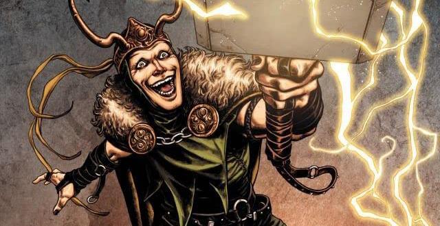 Dettaglio della cover di Thor: The Trials of Loki
