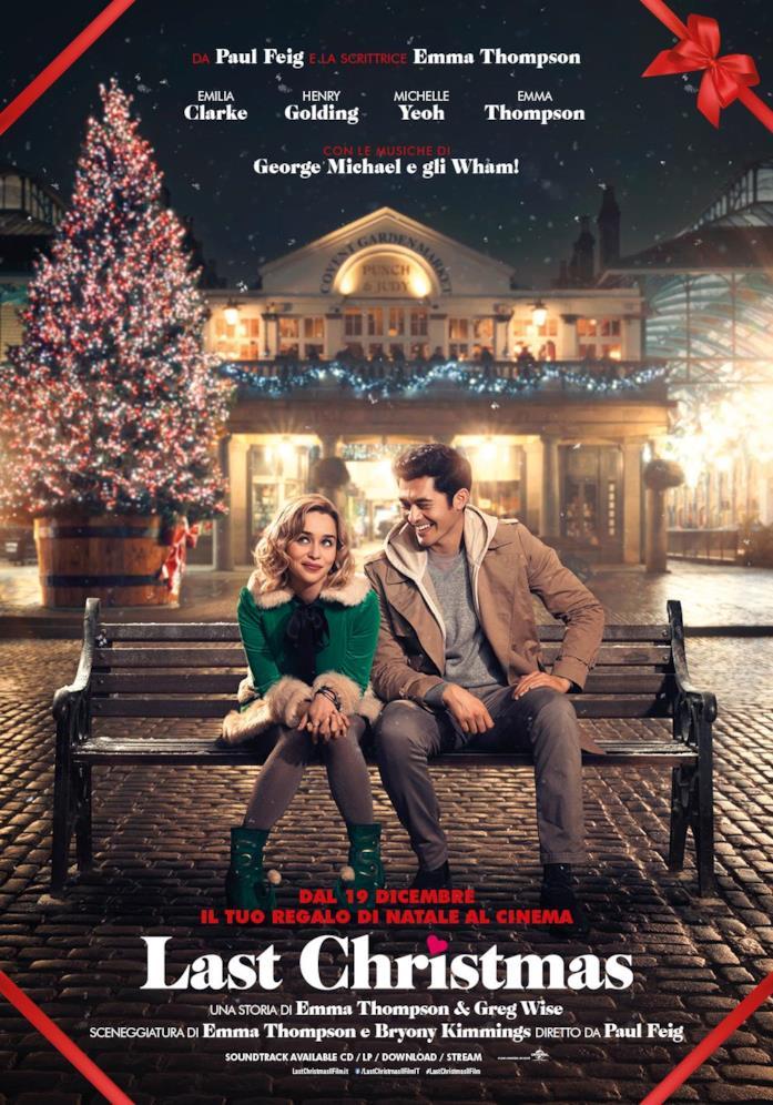 La locandina italiana di Last Christmas