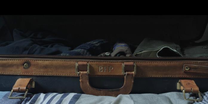 La valigia con le iniziali di Ben Parker