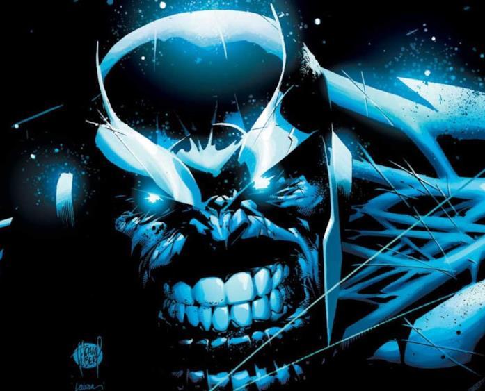 Thanos sulla cover di Infinity