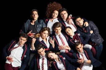 Il cast di Élite su Netflix