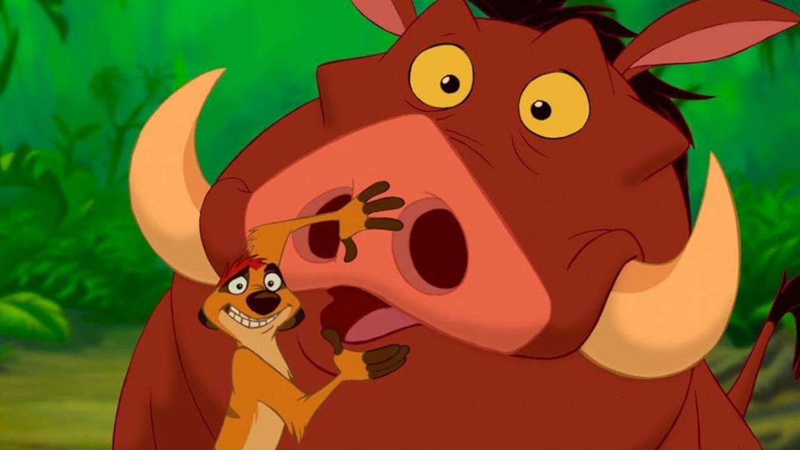 Timon e Pumbaa ne Il re leone