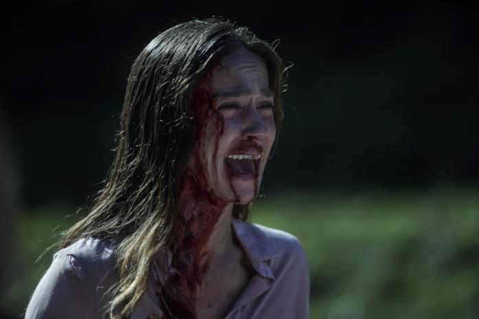 Un primo piano di Matilda Lutz nel film A Classic Horror Story
