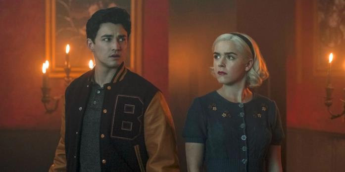 Nicholas e Sabrina alle prese con il Cosmico nel Capitolo trentatré: Deus ex machina