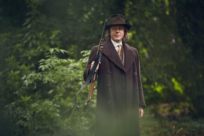 Aidan Gillen è Aberama Gold nella serie Peaky Blinders