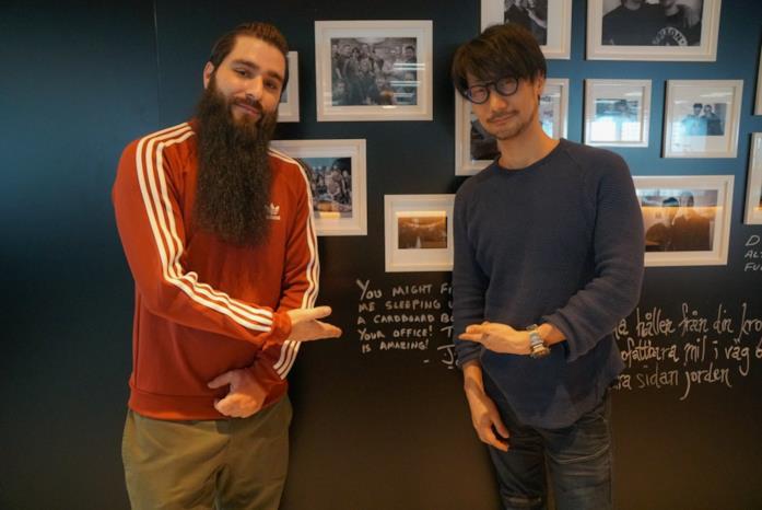 Jordan Vogt-Roberts e Hideo Kojima