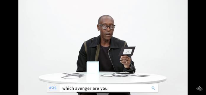 Tu che Avenger saresti?
