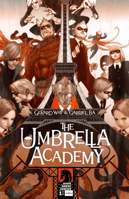 copertina di  The Umbrella Academy