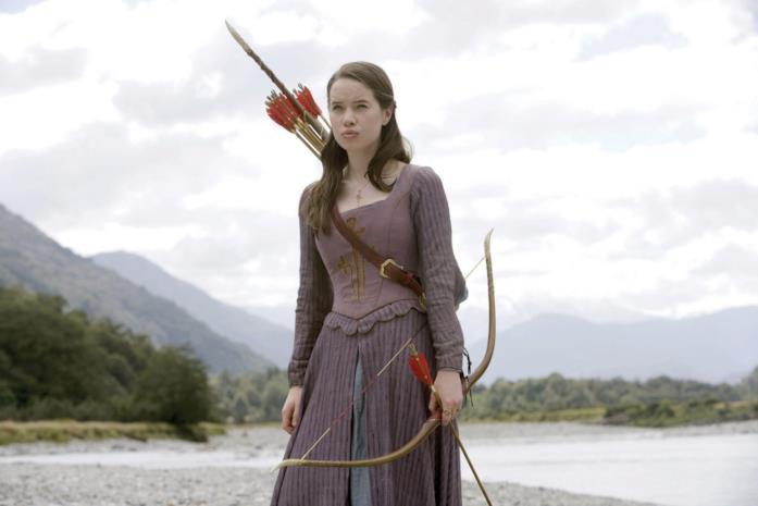Anna Popplewell ne Le cronache di Narnia - Il principe Caspian
