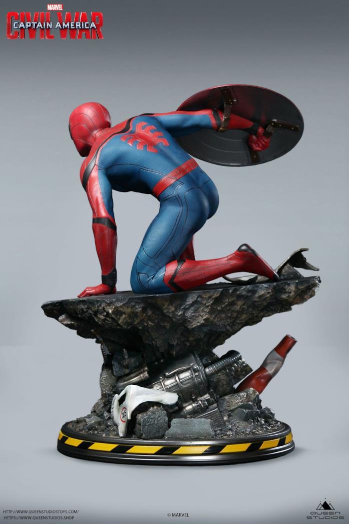 Spider-Man, arriva la statua da collezione di Civil War