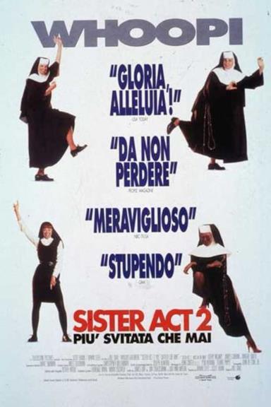 Poster Sister Act 2 - Più svitata che mai