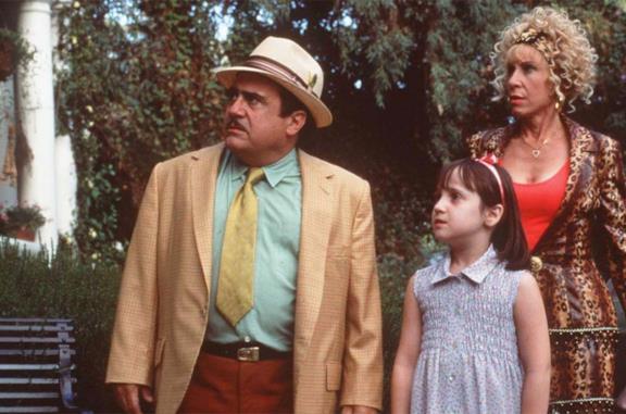 Danny DeVito in una scena di Matilda 6 mitica