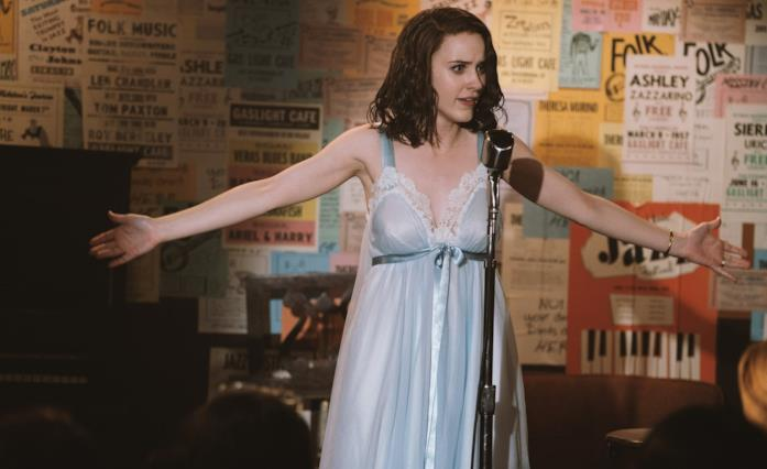 Rachel Brosnahan in The Marvelous Mrs. Maisel