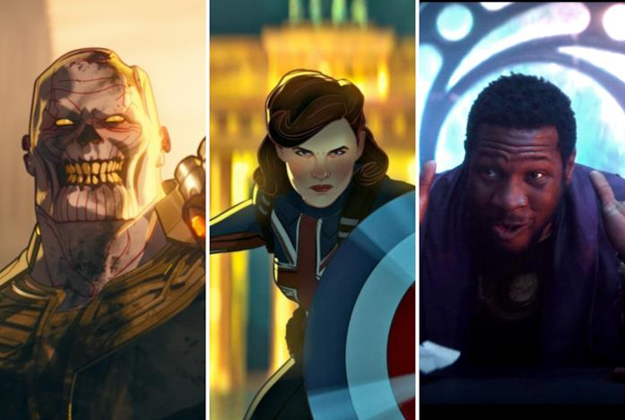 Thanos zombie, Captain Carter e Colui che rimane