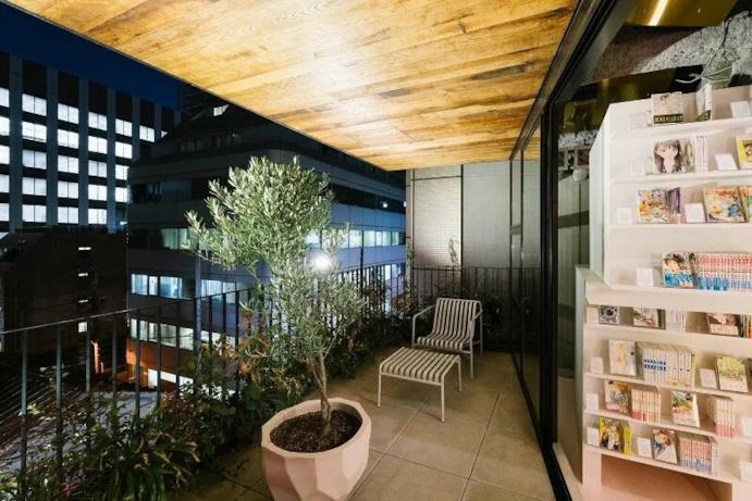Hotel manga terrazzo