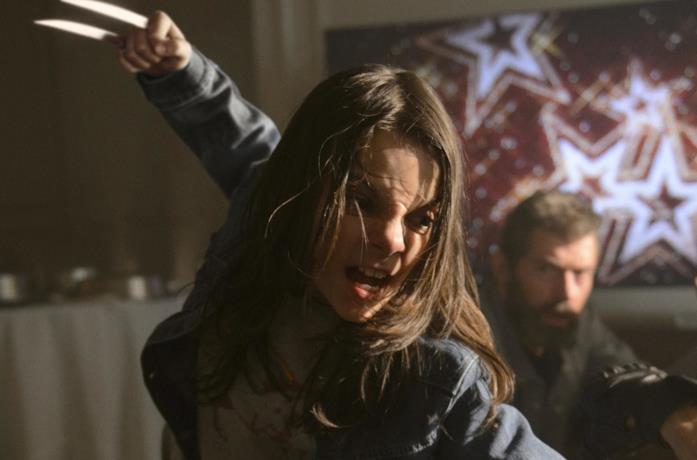 Dafne Keen in Logan come X-23